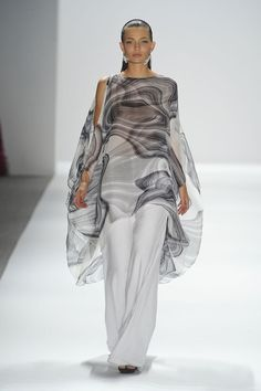 My favorite look from the Carlos Miele Spring 2012 collection