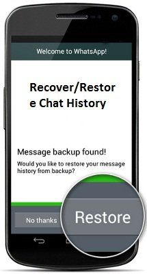 How to Recover/Restore Deleted WhatsApp Chat History, WhatsApp is a popular messaging app for mobile phones. WhatsApp is actually a mobile app which is.