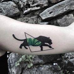 Tattoo photo - Black panther tattoo by Resul Odabas Tattoo Hand Tattoos, Cute Tattoos, Unique Tattoos, Beautiful Tattoos, New Tattoos, Body Art Tattoos, Small Tattoos, Sleeve Tattoos, Tatoos
