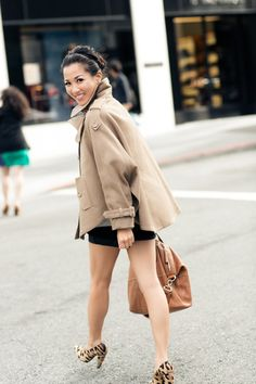 Caramel Candy :: Trench cape