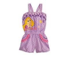 Baby & Toddler Clothing Dedicated Disney Store Princess Tangled Rapunzel Pink Pajamas Shorts Pj Girls Nwt Size 2 To Rank First Among Similar Products Sleepwear