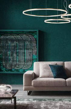 Interiérové závěsné LED svítidlo z kolekce Orbit je vyrobeno z ohnutého hliníku s bronzovou povrchovou úpravou.  #interiérovýdesign #inspirace #osvětlení #nasenabidka #svitidlo #redo #luxprim Bronze, Led, Lighting, Home Decor, Luxury, Homemade Home Decor, Light Fixtures, Lights, Interior Design