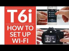 ✅ Click here to see my Top 10 Lenses for the Canon t6i ➜ http://amzn.to/1RsGSUT  Thanks to Shutter Hub for the rental of the Canon t6i How to Set Up WiFi on...