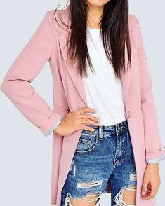 Pink Stylish BlazerShop Now at www.capriccioshop.gr  #layers #blazers #pink #springoutfit #editorial #spring #girls #women #girly #woman #elegant #ideal #styleblogger #chic #stylish #casual #luxury #follow #instaphoto #mood #moodoftheday #colorful #fashionista #instamood #aboutalook #onlineshopping #buyitnow #shopping