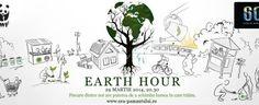 Turn off to turn it on :) Earth Hour sau hai să ne pese un pic mai mult diseară, de la 8 jumate. Mai, Writer, In This Moment, Writers
