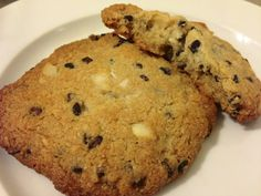 Paleo Cookies With Cacao Nibs, Macadamia Nuts and Coconut   #justeatrealfood #livinghealthywithchocolate