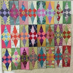 24 down ... 128 to go. #jenkingwelldesigns #glitterquilt