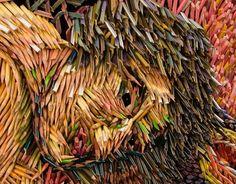 pencil pieces art