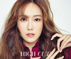 Jessica Jung posing in a photo shoot for High Cut Magazine December Issue 2015.