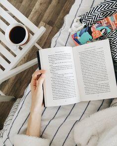 Coffee And Books, Polaroid Film, Instagram