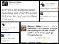 This is why I love cameron dallas so much @ItsCamDallas