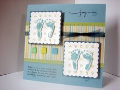 This is so cute! I got the hospital nurses to give me a stamp of my girls' footprints so maybe i can do something like this