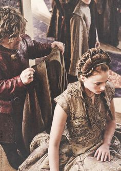 I hated that they had her kneel....her last shred of dignity that she clung to in the book