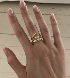 Cute Nails, Pretty Nails, Cute Jewelry, Jewelry Accessories, Gold Jewelry, Fashion Accessories, Jewelry Design, Fashion Jewelry, Ring Necklace