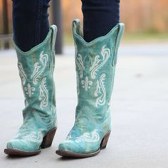 Corral Brown & Purple Flowers Cowgirl Boots R1076 at RiverTrail in ...
