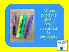 Elementary Matters: