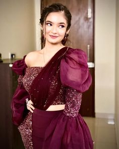 Image may contain: one or more people, people standing and indoor Indian Designer Outfits, Designer Dresses, Modest Fashion Hijab, Fashion Outfits, Dresses For Teens, Girls Dresses, Bridal Lehenga Collection, Celebrity Fashion Looks, Cute Little Girl Dresses