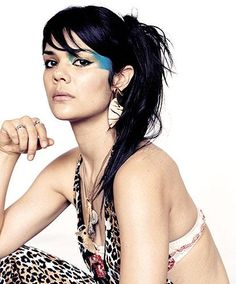 """Bat for Lashes - """"Daniel, when I first saw you...I knew that you had a flame in your heart.  And under wild, blue skies...marble, movie skies...I found a home in your eyes and we will never be apart."""""""