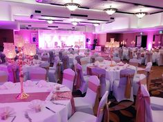 Blush sparkle and champagne gold decor with staging