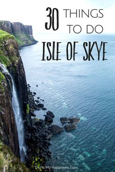 30 Things to Do on the Isle of Skye, Scotland - Travel Destinations Scotland Road Trip, Scotland Vacation, Scotland Travel, Ireland Travel, Travel Europe, Croatia Travel, Italy Travel, Scotland Tours, Africa Travel