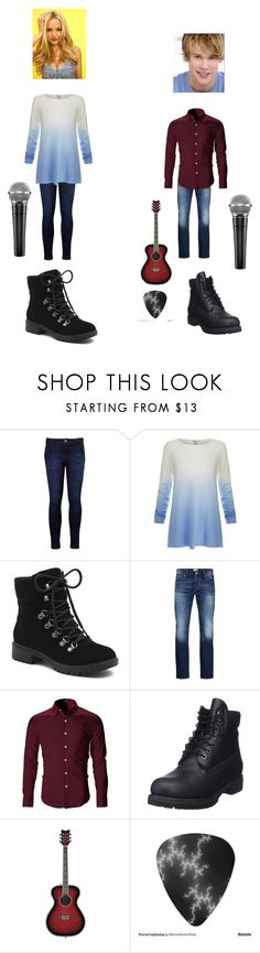 """Singing Everything Has Changed With Sam"" by tayloranna-stone ❤ liked on Polyvore featuring Levi's, Joie, G.H. Bass & Co., Jack & Jones, Timberland, glee and samevans"