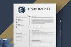 Free Professional Adobe InDesign Resume Templates