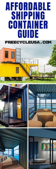 Off-grid Shipping Container This 40-foot shipping container home gets its power from a series of solar panels positioned just off the side of where it's positioned. #freecycleusa Used Shipping Containers, Shipping Container House Plans, Building A Container Home, House Of Cards, Solar Panels, Home Projects, Tiny House, Building A House, Grid
