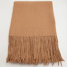 I pinned this Basketweave Cashmere Blend Throw in Camel from the pür cashmere event at Joss and Main!