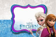 Frozen Birthday with Snow: Free Printable Invitations. | Oh My ...