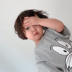 Cute Baby Meme, Cute Funny Babies, Cute Kids, Cute Asian Babies, Korean Babies, Asian Kids, Cute Little Baby, Little Babies, Baby Love
