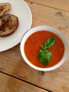 Tomaten-Paprikasoep uit de oven - Puur Suzanne