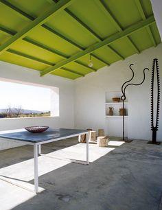 Cubierta del porche en pinterest toldo de la puerta - Benjamin cano arquitecto ...