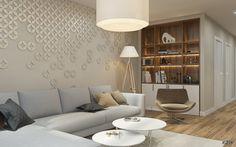 Серый угловой диван, интерьер гостиной