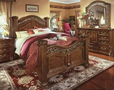 captivating the eye with its pronounced carvings is the warwick mansion bedroom set the warwick - Marble Canopy 2015