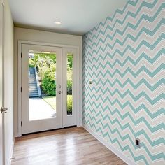 Our latest Chevron wallpaper by Coloroll looks fantastic. What do you…