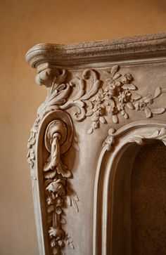 Master Bedroom Fireplace Detail  #fireplace