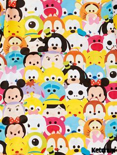 Disney Tsum Tsums; I can name all of these characters easily!