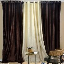 Designer Combo Curtain Coffee Find Curtains Online At Low Prices Compare Price