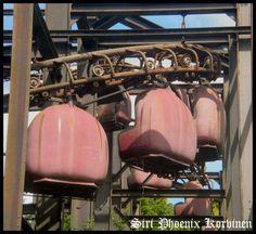 Abandoned Theme Park: Gondolas by Korvinen on @DeviantArt