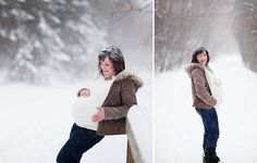 maternity photo winter | Winter Maternity Photo Shoot Ideas - 27 - Pelfind