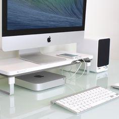 Satechi F3 Smart Monitor Stand (White)