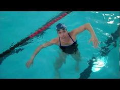 Swim Speed Workouts: Hand Entry Drill - YouTube