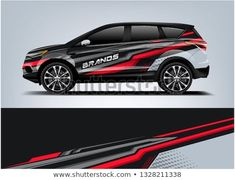 Discover this and millions of other royalty-free stock photos, illustrations, and vectors in the Shutterstock collection. Thousands of new, high-quality images added every day. Peugeot, 2012 Nissan 370z, Vehicle Signage, Racing Car Design, Grand Vitara, Drift Trike, Car Vector, Branding, Car Wrap