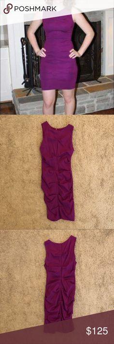Nicole Miller Artelier purple dress Only been worn 2-3 times. In great condition! Nicole Miller Dresses Mini