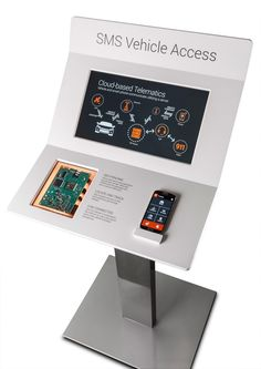 Interactive Telematics Kiosk by Brian Mason at Coroflot.com
