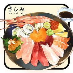 Sashimi ~ Le Delicatessen