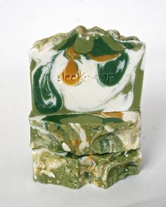 Coconut and Lemongrass Bar by sleeKsoap on Etsy, $6.00