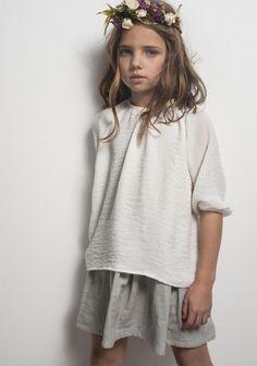 Camisa Lazitos Crep Blanco