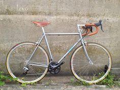 Tan & Grey Bilenky Bicycle Works SteelRoad Bike