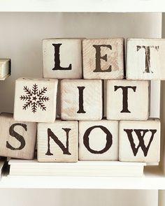 #Let it snow!